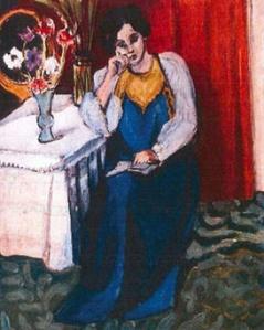 Henri Matisse, La liseuse en blanc et jaune